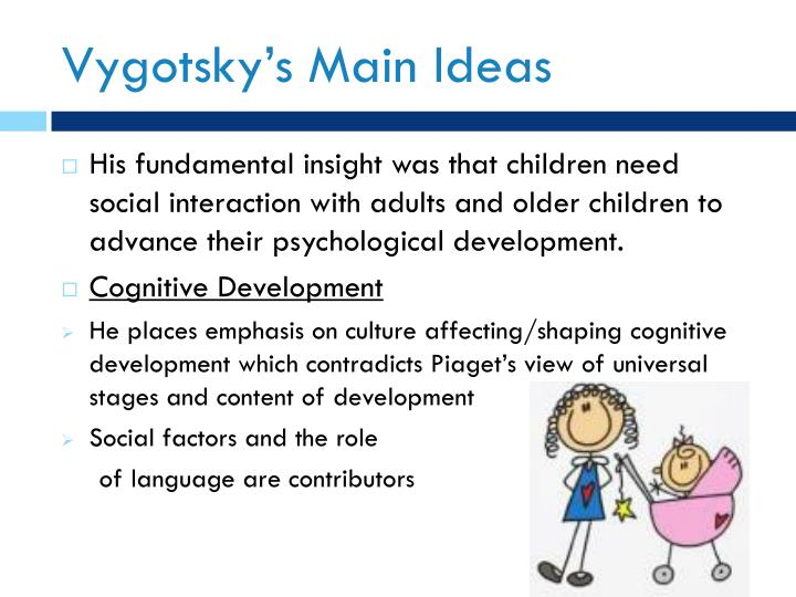 Vygotsky s main ideas
