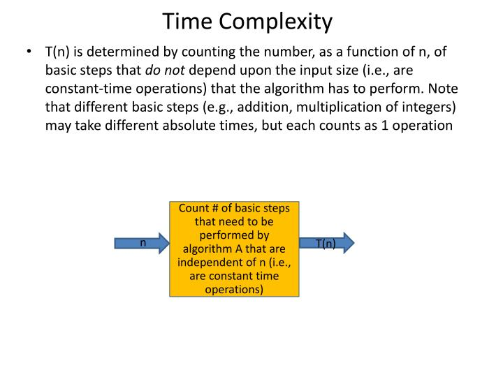 Time complexity1