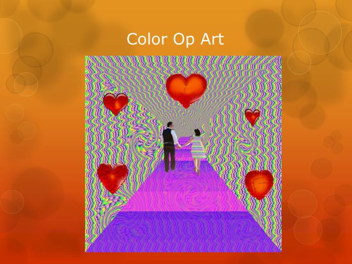 Color Op Art