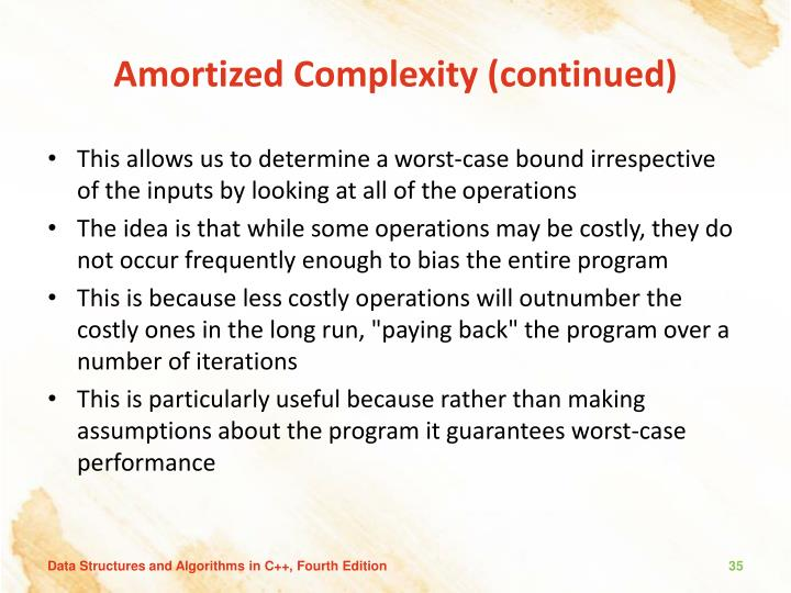 Amortized