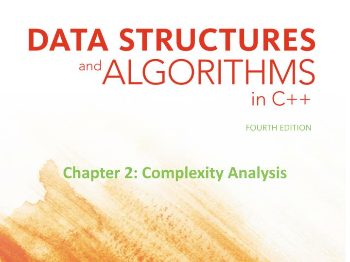 Chapter 2 complexity analysis