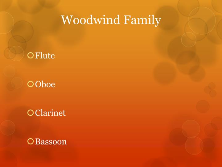 Woodwind family1