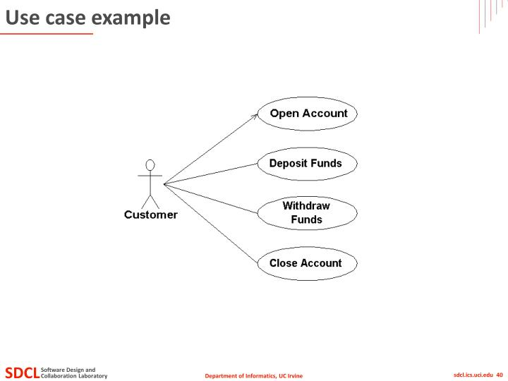 Use case example