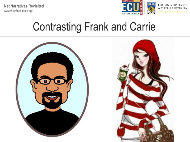 Contrasting Frank and Carrie