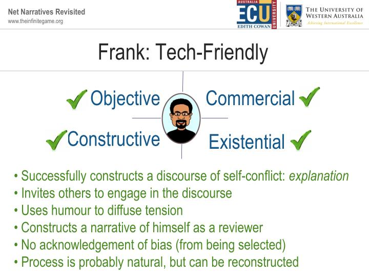 Frank: Tech-Friendly
