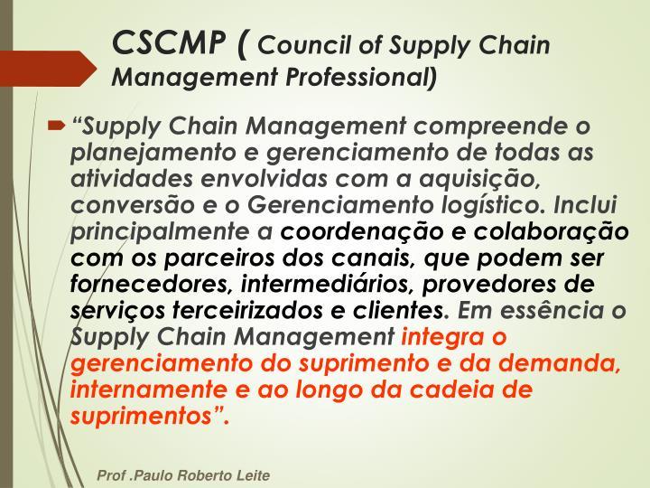 CSCMP (