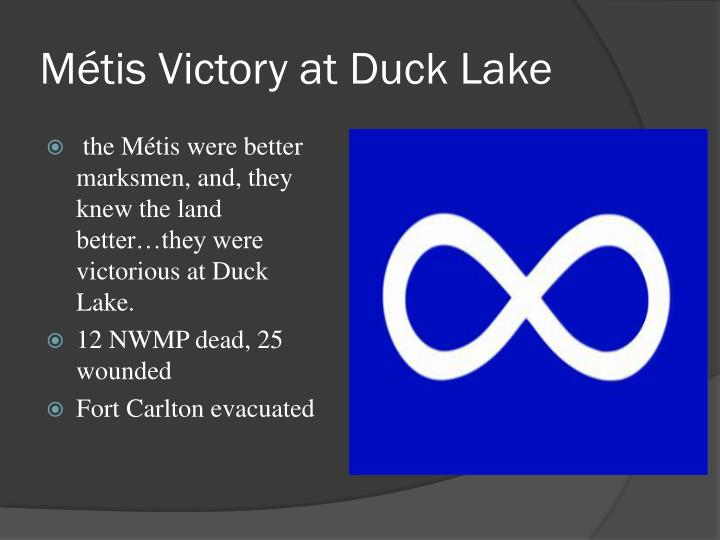 Métis Victory at Duck Lake
