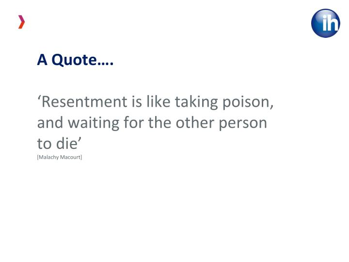 A Quote