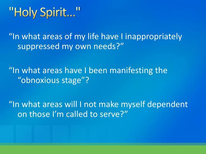 """Holy Spirit"