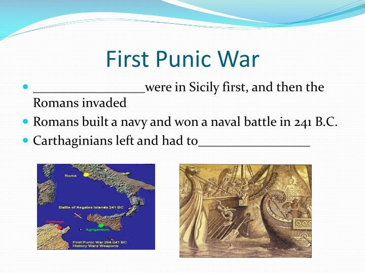 First Punic
