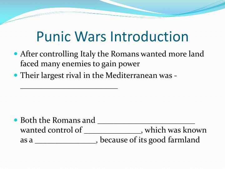 Punic Wars Introduction