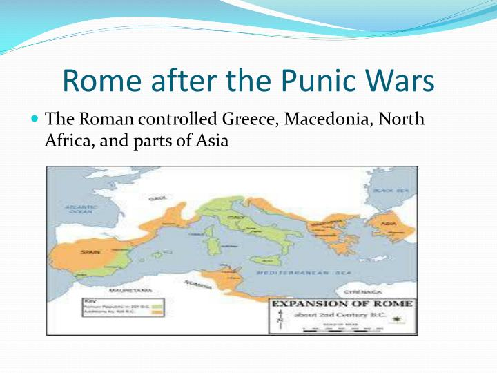Rome after the Punic Wars