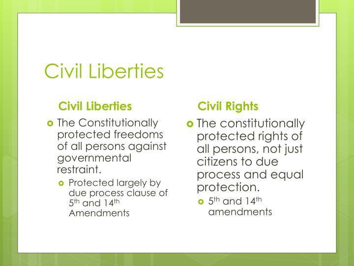 Civil liberties1