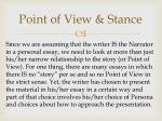 point of view stance3