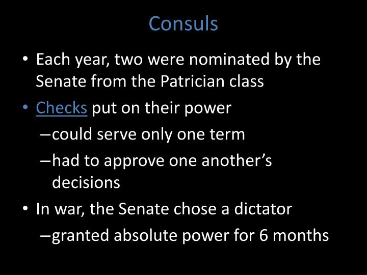 Consuls