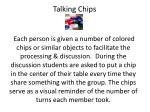 talking chips