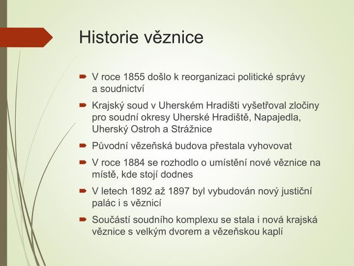 Historie v znice