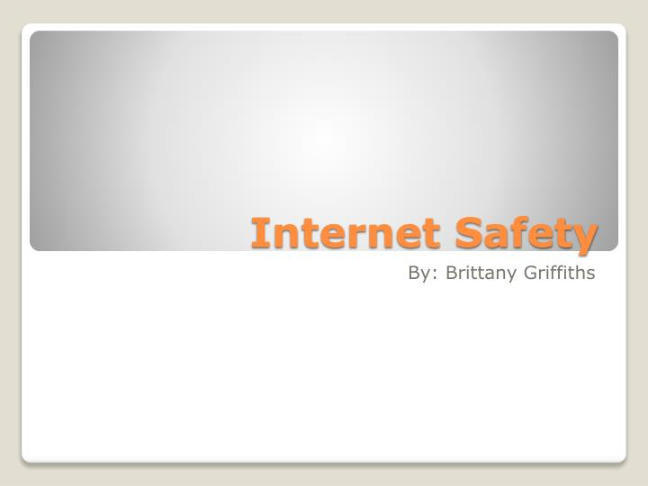 internet safety n.
