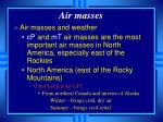 air masses4