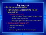 air masses6