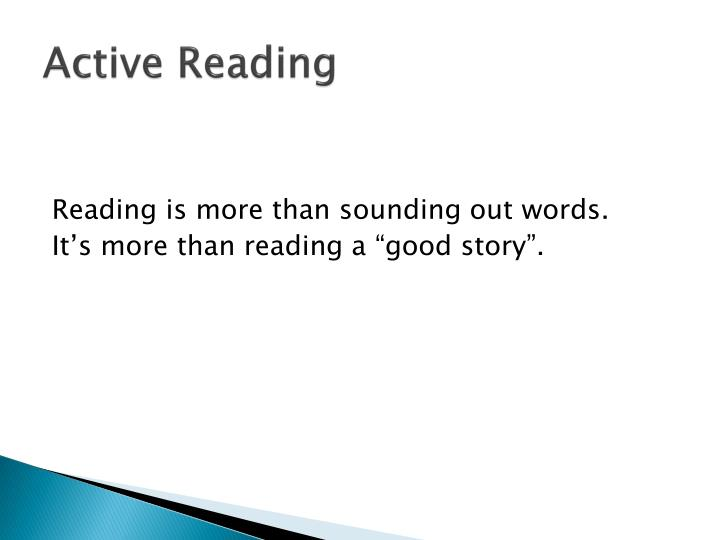 Active reading1