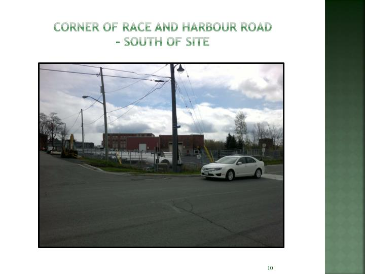 Corner of Race and Harbour