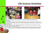 life science activities