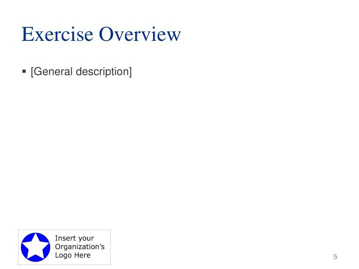 Exercise Overview