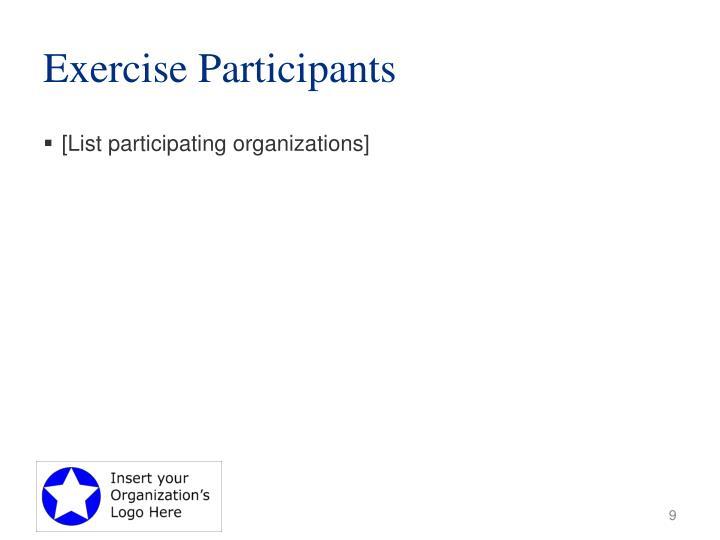 Exercise Participants
