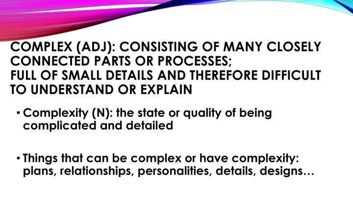Complex (