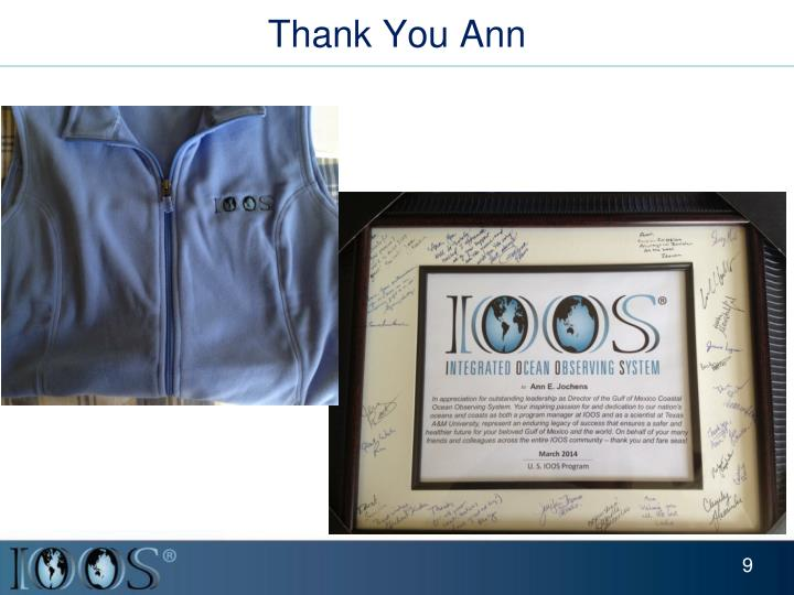 Thank You Ann