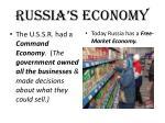 russia s economy