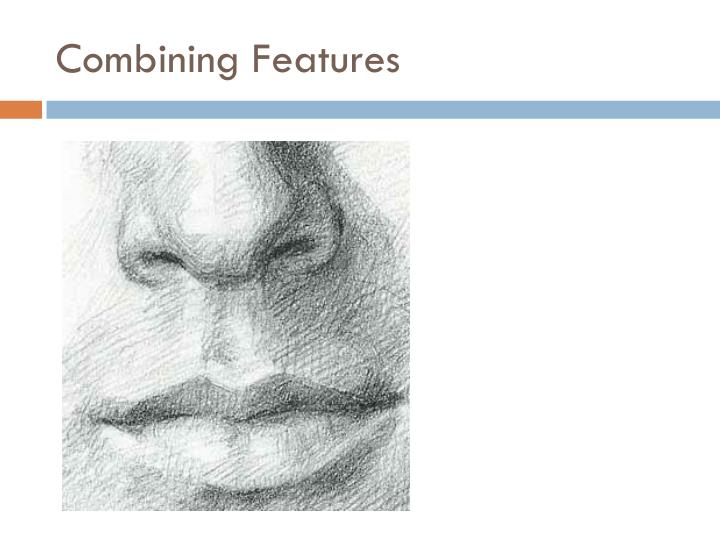 Combining Features