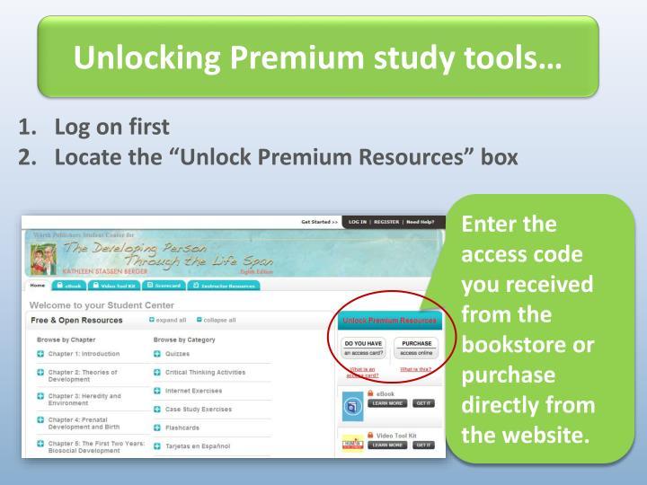 Unlocking Premium study tools…