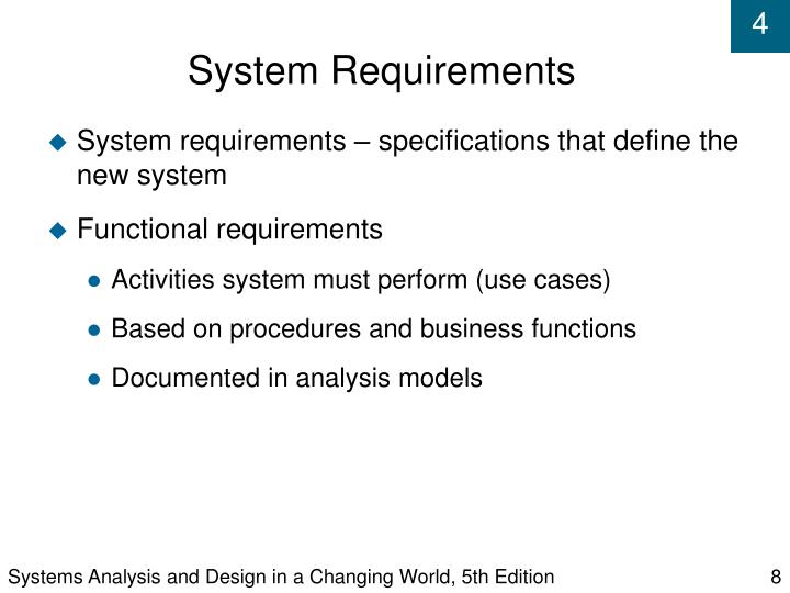Systems Analysis and Design in a Changing World, 5th Edition