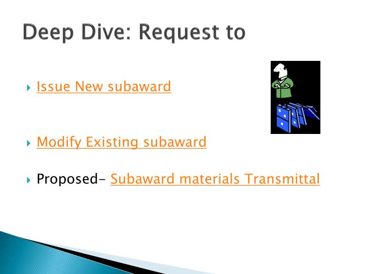Deep Dive: Request to