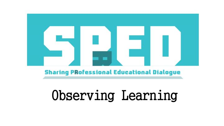 observing learning n.