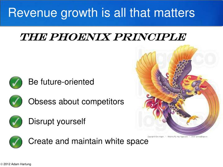 Revenue growth is all that matters