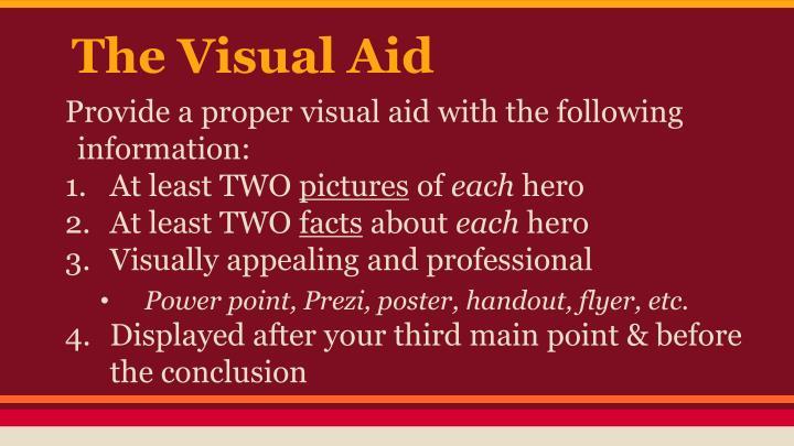 The Visual Aid