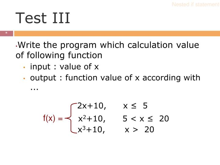 2x+10,      x ≤  5