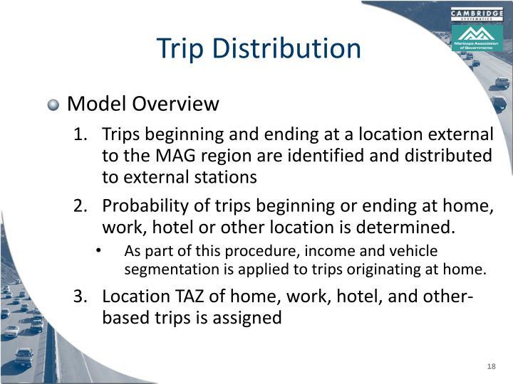 Trip Distribution