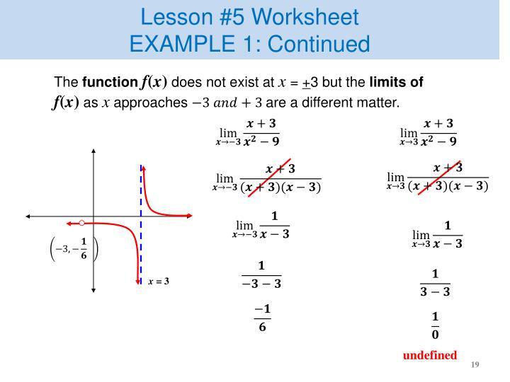 Lesson #5 Worksheet