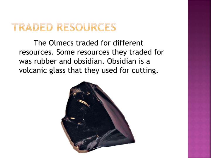 Traded Resources