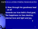 faith is a living power from heaven3