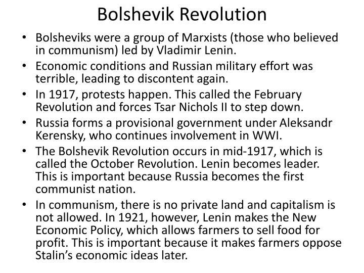 the bolshevik revolution essay Free russian revolution papers, essays the russian avant garde and the bolshevik revolution - the russian avant garde and the bolshevik revolution.
