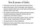 rise power of stalin