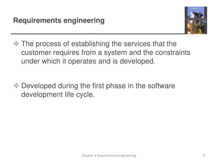 Requirements engineering