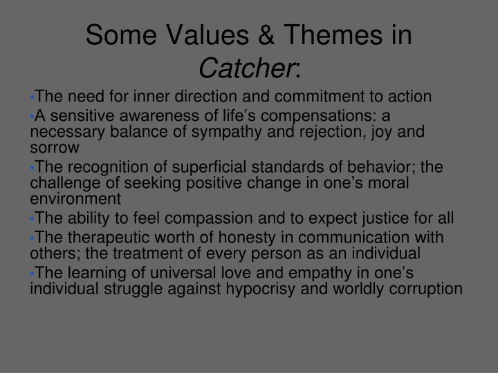 Some Values & Themes in