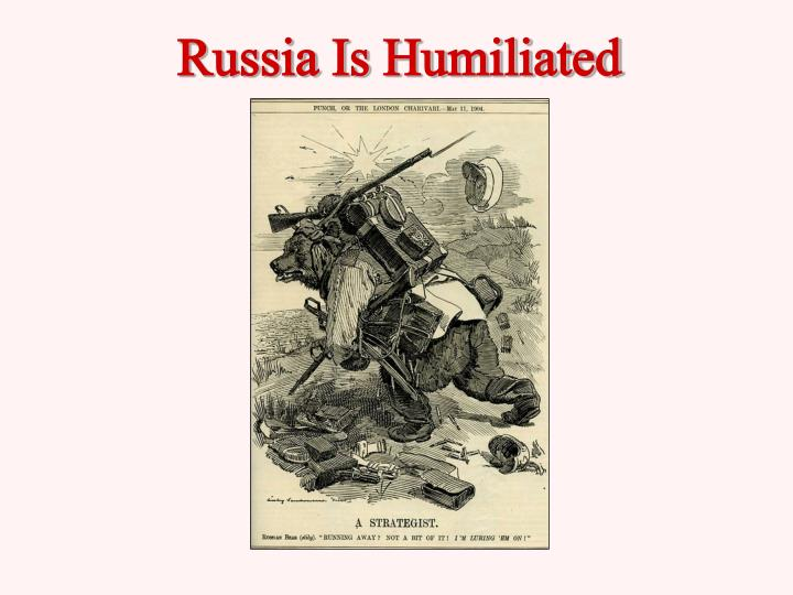 Russia Is Humiliated
