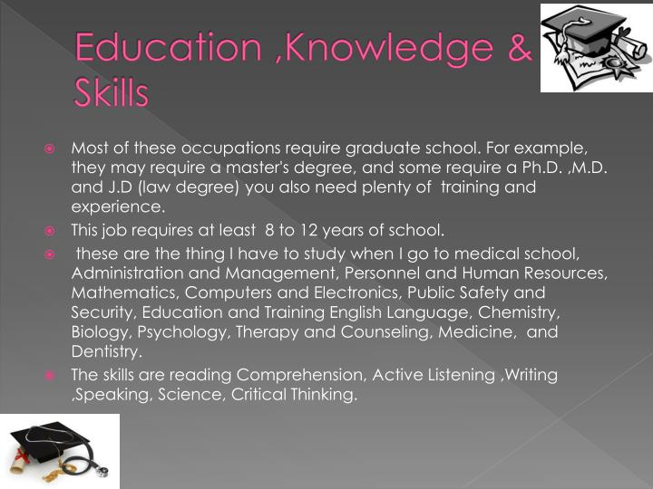 Education ,Knowledge &